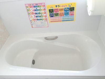 ベンチ式の風呂