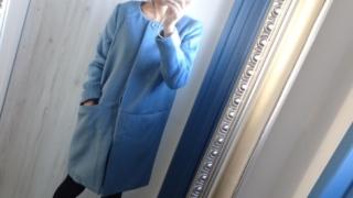 襟なしコート